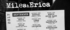 Miles and Erica tour dates